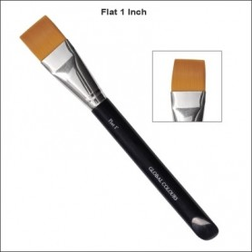 "1"" GLOBAL ACRYLIC BRUSH FLAT"