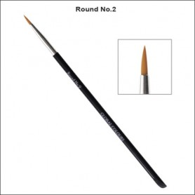 NO.2 GLOBAL ACRYLIC BRUSH ROUND