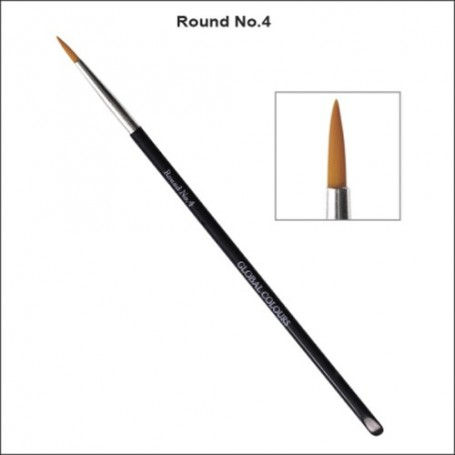 NO.4 GLOBAL ACRYLIC BRUSH ROUND