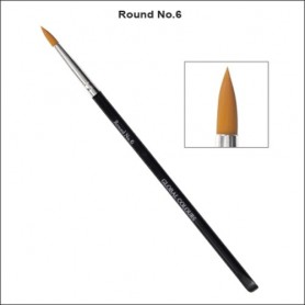 NO.6 GLOBAL ACRYLIC BRUSH ROUND