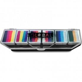 SPLASH - Global 6 x 10g Rainbow Palette