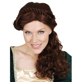 Mary Braids Brown Wig