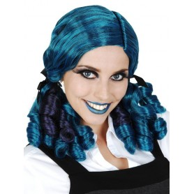 Ashley Ringlets Blue & Purple Deluxe