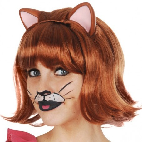 Ginger Cat Auburn with Ears and Fringe Deluxe