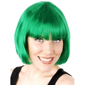 GREEN - Paige Bob with Fringe Wig