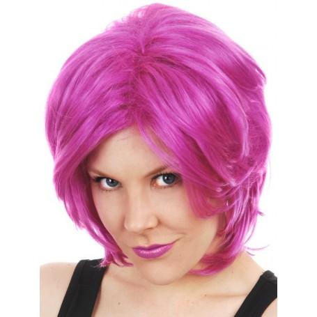 Akira Magenta Wig
