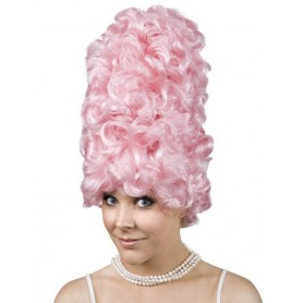 Jacqueline Pink Beehive Wig