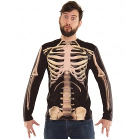 Skeleton Long Sleeved Top