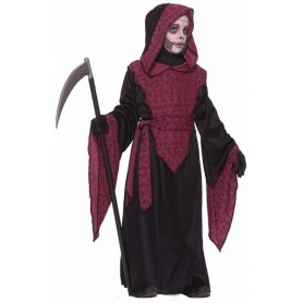 Horror Robe Boys Grim Reaper