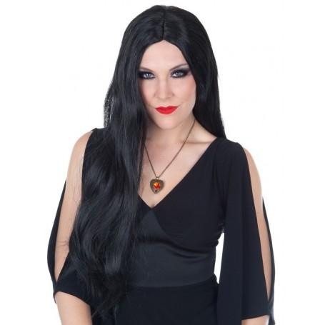 Morticia Wig Black