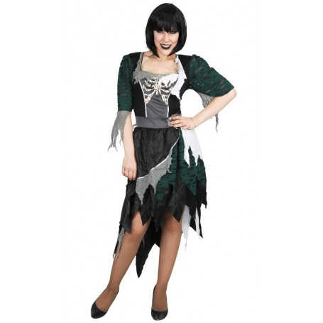 Zombie Wench Dress Costume