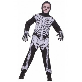 Kids Skeleton Boys Costume