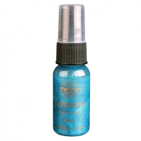 Glitter Spray Blue by Mehron