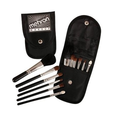 Mini Make-up Brush Set 6 pce