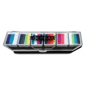 Rainbow Burst - Global 6 x 10g Rainbow Palette