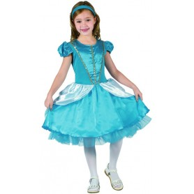 Blue Fairy tale Princess - Child -Large
