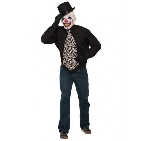 Tie Long Evil Clown Jumbo