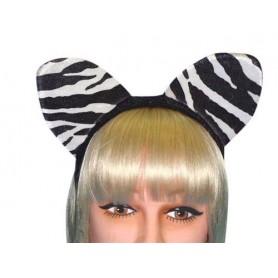 Ears - Zebra Ears On Headband