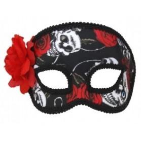 Masquerade Mask - Skulls/Roses