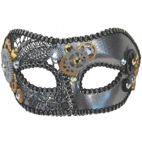 Masquerade Mask - Steampunk Gears