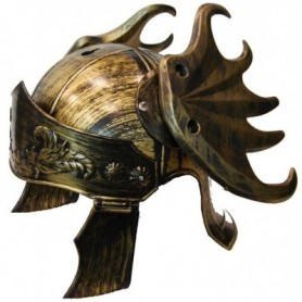 Deluxe Roman Warrior Helmet - Gold