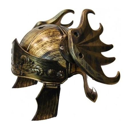 Deluxe Roman Warrior Helmet - Gold