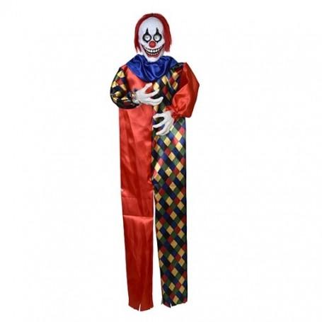 Lala the Clown Light, Sound & Moving Eye Balls 160cm