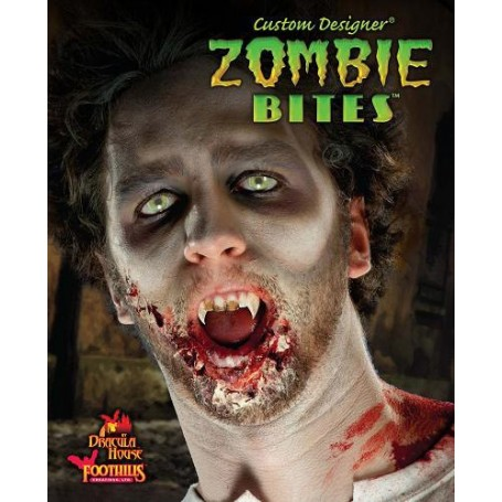 Zombie Bites W/2 Vials Enamel Custom