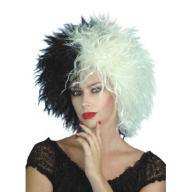 Cruella Black & White Wig