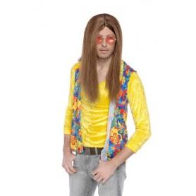 Hippie Guy - Brown Wig