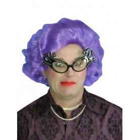 Edna Purple Deluxe Wig