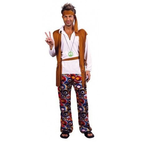 Adult Costume- Hippie Man
