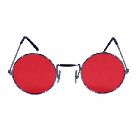 Lennon Round Sunglasses - Red
