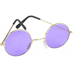 Lennon Round Sunglasses - Purple