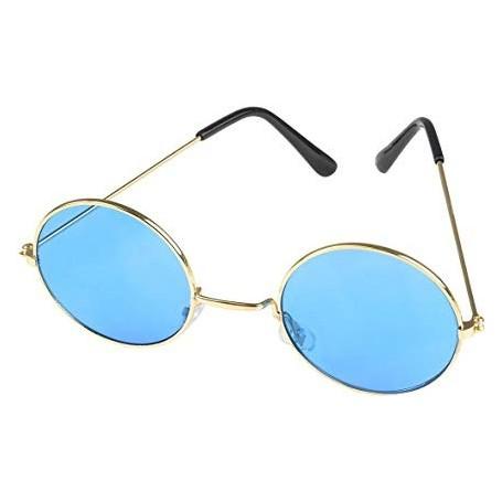 Lennon Round Sunglasses - Blue