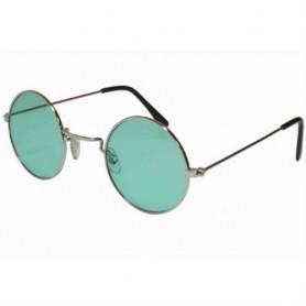 Lennon Round Sunglasses - Green