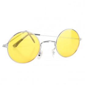 Lennon Round Sunglasses - Yellow