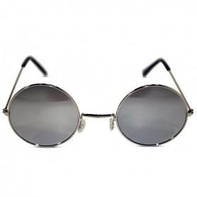 Lennon Round Sunglasses - Dark