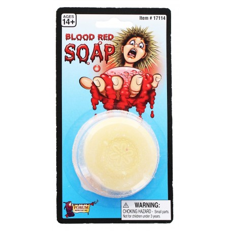 Bloody Novelty Bathroom Soap, Red