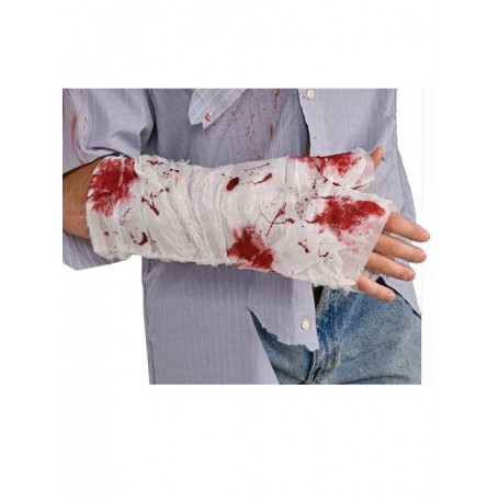 Bloody Arm Bandage Halloween Accessory