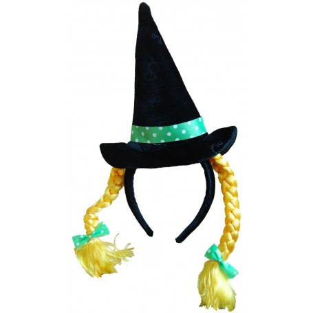 Witch Hat Headband with Plaits