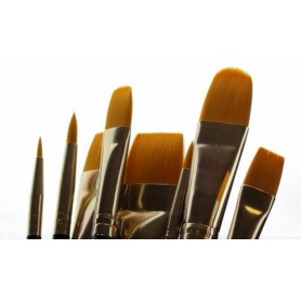 GLOBAL ACRYLIC BRUSH - Bundled 8
