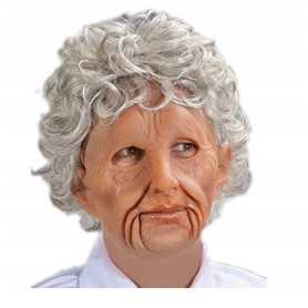 Super Soft Old Woman Mask