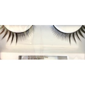 False Eyelashes - Short & Long Black