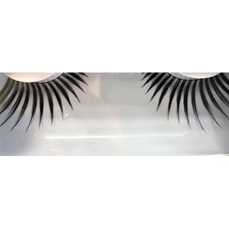False Eyelashes - Spidery Long - Black