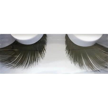 False Eyelashes - Black, Thick, Long Dramatic