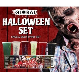 Halloween Face Paint Set - 180 ml