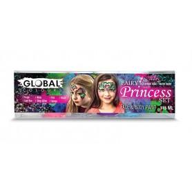 Fairy Princess - Face & Body Paint Set
