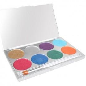Paradise AQ Make Up 8 Colour Palette - Brilliant