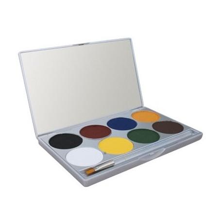 Paradise AQ Make Up 8 Colour Palette - Basic